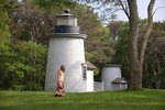 Three%20Sisters%20Lighthouses%20These%20are%20located%201/2%20mile%20from%20Nauset%20Light%20Beach%20on%20Cable%20Road.%20In%201837%2C%20a%20lighthouse%20station%20was%20established%20at%20Nauset%20Beach%20-%20halfway%20between%20the%20single%20light%20at%20Highland%2C%20and%20the%20twins%20at%20Chatham.%20To%20distinguish%20the%20Nauset%20Station%2C%20a%20keeper%27s%20house%20and%20three%20small%20towers%20of%20brick%20were%20constructed%20150%20feet%20apart.%20Two%20towers%20were%20taken%20out%20of%20service%20in%201911%20and%20the%20third%20was%20replaced%20in%201923%20with%20the%20%22New%20Nauset%20Light.%22%20In%201975%2C%20the%20National%20Park%20Service%20purchased%20all%20of%20the%20Three%20Sisters%20Lights%20and%20conducted%20a%20%24510%2C000%20restoration%20that%20was%20completed%20in%201989.%20The%20Three%20Sisters%20now%20rest%20together%20and%20can%20be%20viewed%20with%20a%20short%20walk%20from%20Nauset%20Light%20Beach.