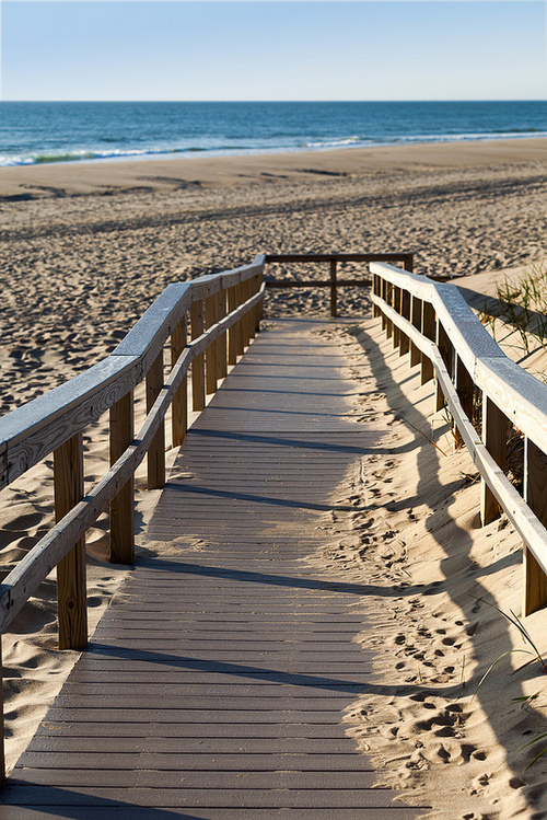 Walkway to Nauset Beach.